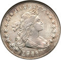 Early Dollars, 1796 $1 Small Date, Large Letters VF30 NGC. B-4, BB-61, R.3....