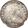 Early Dollars, 1799 $1 7x6 Stars -- Scratches, Cleaned -- NGC Details. AU. B-16,BB-158, R.2....