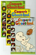 Bronze Age (1970-1979):Cartoon Character, Casper's Ghostland File Copy Group (Harvey, 1971-74) Condition:Average NM-.... (Total: 4 Comic Books)
