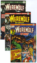 Bronze Age (1970-1979):Horror, Werewolf by Night Group (Marvel, 1973-76) Condition: AverageFN/VF.... (Total: 24 Items)