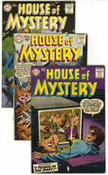 Silver Age (1956-1969):Horror, House of Mystery Group (DC, 1958-63) Condition: Average FN....(Total: 8 Comic Books)