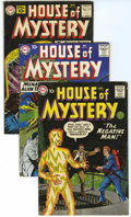 Silver Age (1956-1969):Horror, House of Mystery Group (DC, 1958-61) Condition: Average VG....(Total: 9 Comic Books)