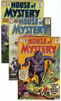 Silver Age (1956-1969):Horror, House of Mystery Group (DC, 1961-62) Condition: Average FN/VF....(Total: 5 Comic Books)