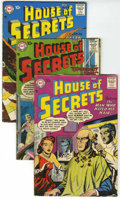 Silver Age (1956-1969):Mystery, House of Secrets Group (DC, 1957-60) Condition: Average VG....(Total: 10 Comic Books)