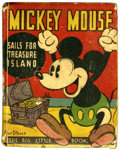 Platinum Age (1897-1937):Miscellaneous, Big Little Book 750 Mickey Mouse (Whitman, 1933) Condition: VG....
