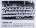Autographs:Photos, 1956 Brooklyn Dodgers Team Signed Photograph. Shown here in theirofficial team photo for the 1956 season, the Brooklyn Dod...