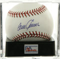 Autographs:Baseballs, Tom Seaver Single Signed Baseball, PSA Gem Mint 10. Tom Terrifichas made it possible that we offer this perfect sweet spot ...