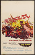 "Movie Posters:War, The Train Lot (United Artists, 1964). Window Cards (3) (14"" X 22"").War. ... (Total: 3 Items)"