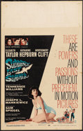 "Movie Posters:Drama, Suddenly Last Summer (Columbia, 1960). Window Card (14"" X 22"").Drama. ..."