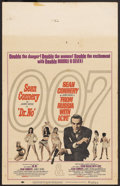 "Movie Posters:James Bond, Dr. No/From Russia with Love Combo (United Artists, 1965). Window Card (14"" X 22""). James Bond...."