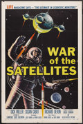 """Movie Posters:Science Fiction, War of the Satellites (Allied Artists, 1958). One Sheet (27"""" X41""""). Science Fiction. ..."""