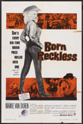"""Movie Posters:Bad Girl, Born Reckless (Warner Brothers, 1959). One Sheet (27"""" X 41""""). BadGirl. ..."""