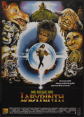 """Movie Posters:Fantasy, Labyrinth (Tri Star Pictures, 1986). German A0 (33"""" X 47""""). Fantasy. ..."""