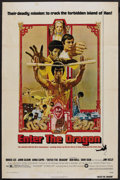 """Movie Posters:Action, Enter the Dragon (Warner Brothers, 1973). One Sheet (27"""" X 41"""").Martial Arts Action. ..."""