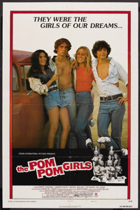 "The Pom Pom Girls (Crown-International, 1976). One Sheet (27"" X 41"") Style B. Bad Girl"