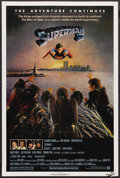 "Movie Posters:Action, Superman II (Warner Brothers, 1980). One Sheet (27"" X 41""). Action. ..."