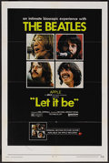 "Movie Posters:Rock and Roll, Let It Be (United Artists, 1970). One Sheet (27"" X 41""). Rock andRoll. ..."