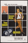 """Movie Posters:Mystery, Mirage (Universal, 1965). One Sheet (27"""" X 41""""). Mystery. ..."""