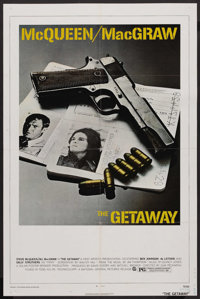 """The Getaway (Warner Brothers, 1972). One Sheet (27"""" X 41""""). Action"""