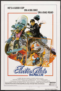 "Electra Glide in Blue (United Artists, 1973). One Sheet (27"" X 41""). Cult Classic"