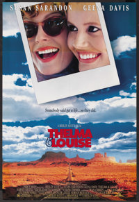 """Thelma and Louise (MGM, 1991). One Sheet (27"""" X 41""""). Drama"""