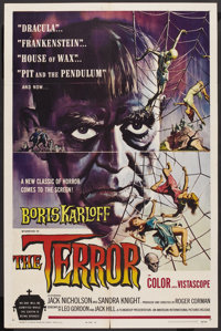 "The Terror (American International, 1963). One Sheet (27"" X 41"") Style A. Horror"