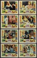 """Movie Posters:Comedy, The Amorous Adventures of Moll Flanders (Paramount, 1965). LobbyCard Set of 8 (11"""" X 14""""). Comedy. ... (Total: 8 Items)"""