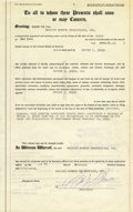 Movie/TV Memorabilia:Autographs and Signed Items, Marilyn Monroe Signed Agreement. A notarized general release agreement between Marilyn Monroe Productions, Inc. and Irving L... (Total: 1 Item)