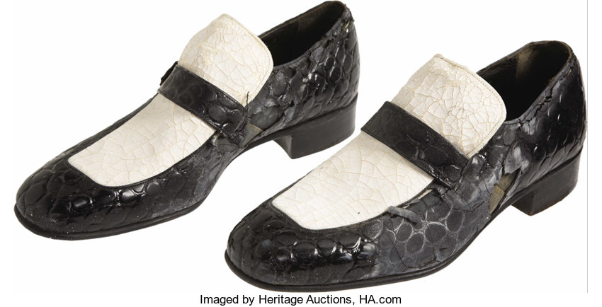 6ad636116a Jerry Lee Lewis Owned and Worn Shoes. Jerry Lee Lewis
