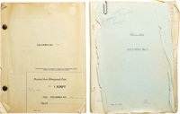 "Marian Marsh ""Crime and Punishment"" Scripts. ""I am Sonya!... A woman like me might still save a man's sou..."