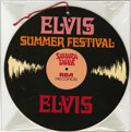 "Music Memorabilia:Memorabilia, Elvis Presley Engagement Mobile Group of 2 (c. 1970). These two-sided mobiles were used during Elvis' ""SUMMER FESTIVAL""s at ... (Total: 1 Item)"