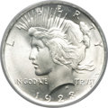 Peace Dollars, 1923 $1 MS67 PCGS. CAC....