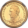 Commemorative Gold, 1904 G$1 Lewis & Clark MS63 Prooflike NGC....