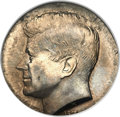 Errors, Undated Kennedy Half Dollar -- On a Five Cent Planchet -- MS64 ANACS....