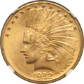 Indian Eagles: , 1932 $10 MS64+ NGC. NGC Census: (11129/2563). PCGS Population(8937/1250). Mintage: 4,463,000. Numismedia Wsl. Price for pr...