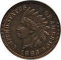 Indian Cents: , 1883 1C MS66 Red and Brown NGC. NGC Census: (22/1). PCGS Population (3/0). Mintage: 45,598,108. Numismedia Wsl. Price for p...