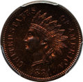 Proof Indian Cents: , 1881 1C PR65 Red and Brown PCGS. CAC. PCGS Population (84/24). NGC Census: (77/43). Mintage: 3,575. Numismedia Wsl. Price f...
