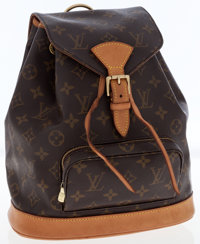 Louis Vuitton Classic Monogram Canvas Mini Montsouris Backpack Bag