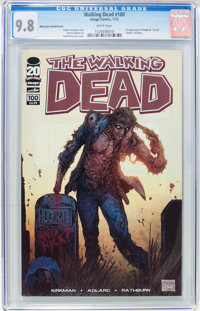 Walking Dead #100 Todd McFarlane Cover Variant (Image, 2012) CGC NM/MT 9.8 White pages