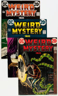 Bronze Age (1970-1979):Horror, Weird Mystery Tales Group - Savannah pedigree (DC, 1973-75)Condition: Average VF/NM.... (Total: 13 Comic Books)