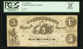 Confederate Notes:1861 Issues, T11 $5 1861 PF-4 Cr. 44.. ...