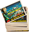 Memorabilia:Trading Cards, Mars Attacks Trading Cards Group (Topps, 1962).... (Total: 51Items)