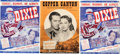 Memorabilia:Movie-Related, Movie Related Sheet Music Group (1943-49).... (Total: 3 Items)