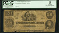 Confederate Notes:1862 Issues, T47 $20 1862 PF-2 Cr. UNL.. ...