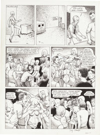 Guy Colwell Doll #1 Page 21 Original Art (Rip Off Press, 1989).... (Total: 2 Items)