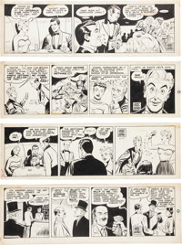 Ogden Whitney, Mike Roy, and Jerry Siegel Ken Weston P.I. Daily Comic Strip Original Art Group (General Features C... (T...