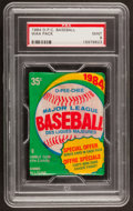 Baseball Cards:Unopened Packs/Display Boxes, 1984 O-Pee-Chee Unopened Pack PSA Mint 9....