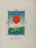 Books:Prints & Leaves, [Verve]. Dr. J.-C. Mardrus, text and André Derain, illustrator.In the Garden of Allah. Extracted from Verve...