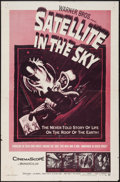 "Movie Posters:Science Fiction, Satellite in the Sky (Warner Brothers, 1956). One Sheet (27"" X 41""). Science Fiction.. ..."
