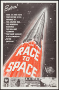 "Movie Posters:Documentary, The Race to Space (Universal International, 1962). One Sheet (27"" X 41""). Documentary.. ..."